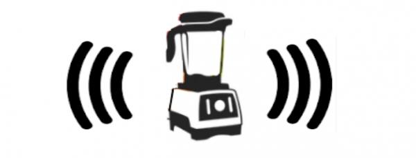 Sound Waves Vitamix Logo