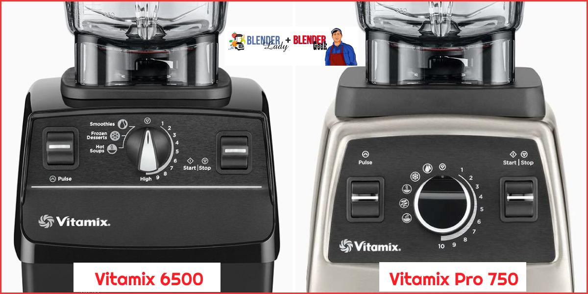 Vitamix 6500 vs Pro 750